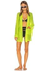 Shaycation x REVOLVE Andi Kimono in Neon Yellow