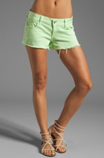 Siwy Camilla Shorts in Honeydew