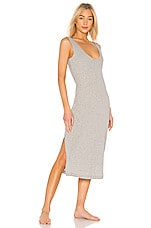 Skin Ruby Chemise in Heather Grey