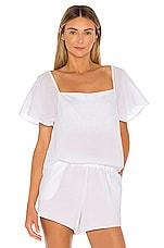 Skin Josie Top in White