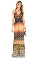 sky Wwacuman Maxi Dress in Multi