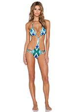 Caden Swimsuit in Turquoise