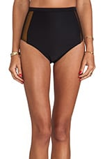 Holland High-Waisted Bottoms in Black