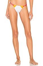 SKYE & staghorn Forbode Beaded Bikini Bottom in Multi