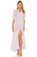 Selkie The Pearl Gown in Gingham