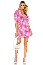 Selkie The Beach House Dress in Polka Dots