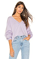 Selkie X REVOLVE The Vacation V Neck in Moonstone