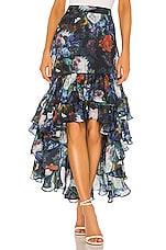 Selkie The Mykonos Skirt in Vintage Floral