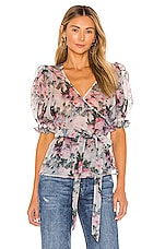 Selkie The Cloud 9 Top in Garden Rose