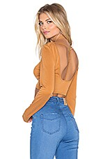 Blessed Crop Top in Rust