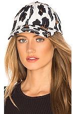 Solid & Striped Baseball Hat in Leopard