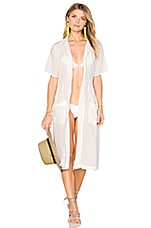 Solid & Striped The Pool Dress in Cream