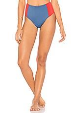 Solid & Striped The Jessica Bikini Bottom in Red Slate