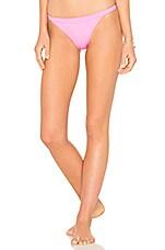 Solid & Striped The Molly Bikini Bottom in Malibu Pink