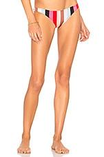 Solid & Striped The Wendy Bikini Bottom in Malibu Stripe