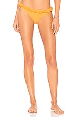 Solid & Striped The Milly Bikini Bottom in Yellow Pucker