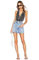 Solid & Striped Janet One Piece in Black Polka Dot Big