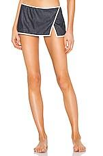 Solid & Striped Mazie Bikini Bottom in Indigo
