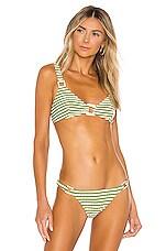 Solid & Striped Tilda Bikini Top in Grass Rib