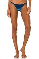 Solid & Striped Morgan Bikini Bottom in Aqua Velvet