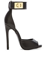 Mayven Heel in Black Suede