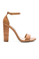 Carrson Heel in Tan Leather