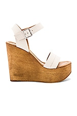 Steve Madden Belma Wedge in Off White