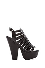 Glendale Wedge in Black