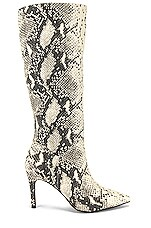 Steve Madden Kinga Boot in Natural Snake