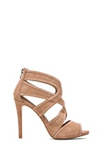 Immence Heel in Blush Suede