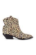 Sigerson Morrison Tacyly Bootie in Tan Leopard