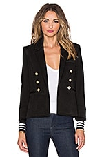 Smythe College Blazer in Black Pique