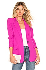 Smythe Tailored Blazer in Neon Pink
