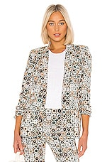 Smythe Lounge Blazer in Graphic Floral