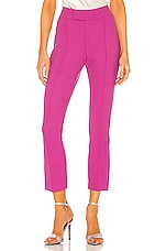 Smythe Stovepipe Pant in Violet