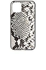 Sonix Gray Python Wallet 11 Pro MAX Case in Grey