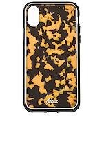 Sonix Brown Tortoise iPhone XS/X Case in Brown Tort