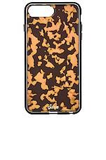 Sonix Brown Tortoise iPhone 6/7/8 Plus Case in Brown Tort