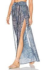 Laura Pant in Blue Tribal