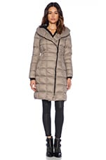 May Lightweight Down Jacket in Taupe