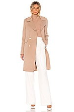 Soia & Kyo Rive Coat in Almond