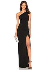 SOLACE London Petch Dress in Black