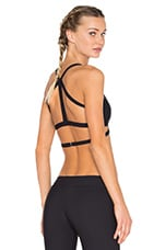 Convergent Sports Bra in Black