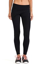 So Low Wrap Front Legging in Black