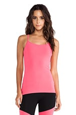 90/10 Racerback Workout Cami in Electric