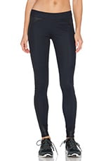 Side Panel Legging en Noir