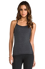 Eclon Racerback Tank in Heather Charcoal