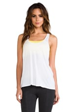 Knot Back Cami in White & Spark