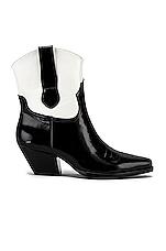Sol Sana Allister Bootie in Black & White