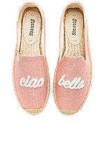 Soludos Ciao Bella Smoking Slipper in Dusty Rose